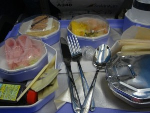 モルディブの機内食