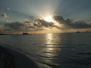 モフディブの夕日